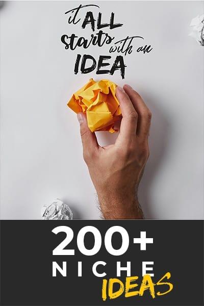 Niche Ideas for Blogging