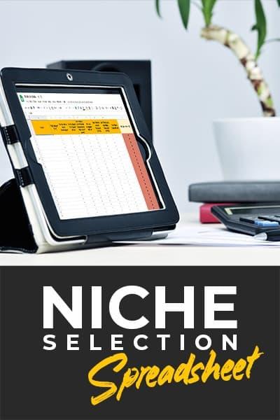 Niche Selection Spreadsheet