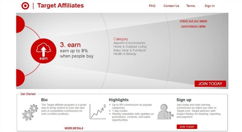 Target Affiliates Program