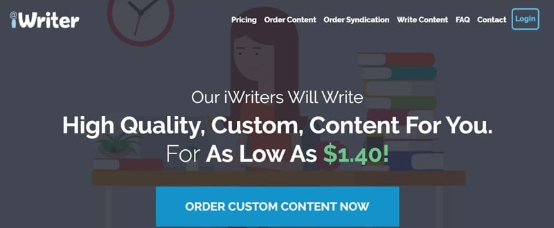 Best Freelance Websites For Writers iWriter