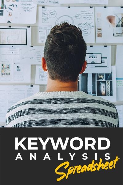 Keyword Analysis Spreadsheet