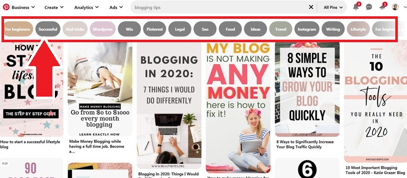How To Do Pinterest Keyword Research With Guided Search
