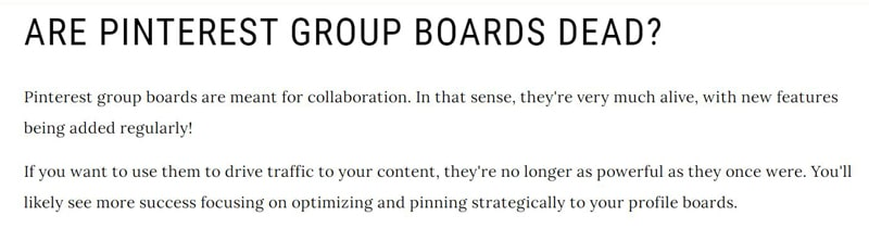 Should you join group boards in Pinterest