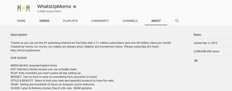 Best motherhood YouTube channels