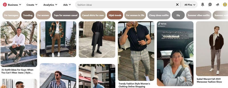 Fashion niche for Pinterest affiliate marketing