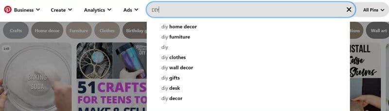 Best niche for Pinterest affiliate marketing DIY crafts