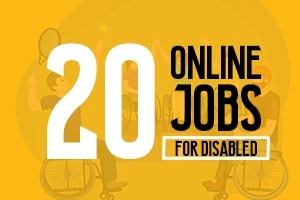 Online Jobs for disabled individuals